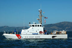 корабль береговой охраны мы стоковое изображение rf