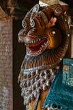 Корабль бога на виске brihadeshwara, Thanjavur стоковое изображение rf