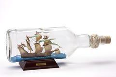 корабль бутылки Стоковые Фото