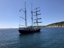 корабль высокорослый стоковое фото