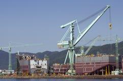 Корабль в конструкции Стоковая Фотография RF