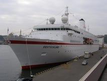 Корабль в Одессе, Украине Стоковое Фото