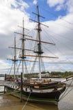 Корабль голода реплики Dunbrody в новом Ross стоковые фото