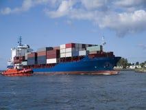 корабль грузового контейнера Стоковые Изображения