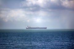 Корабль далеко вне к морю Стоковые Фотографии RF