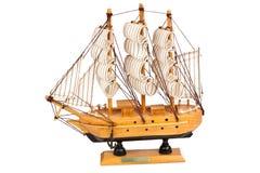 корабль деревянный Стоковое Изображение