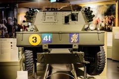 Корабль динго малый на музее Лондоне национальных войск стоковая фотография rf