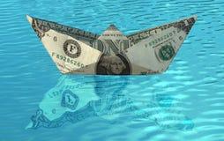 корабль доллара стоковые фото