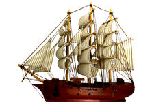 Корабль или Barque Стоковое Изображение