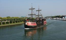 корабль конструкции ретро Стоковая Фотография RF