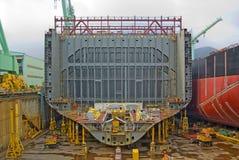 корабль конструкции Стоковая Фотография