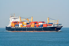 корабль контейнера Стоковая Фотография