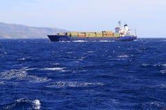 корабль контейнера Стоковое Изображение RF
