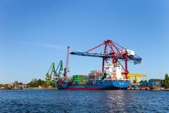 Корабль контейнера Стоковые Изображения RF