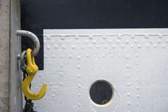 корабль крюка Стоковая Фотография