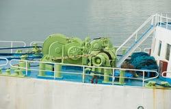 корабль машинного оборудования смычка Стоковая Фотография RF