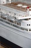 корабль модели круиза Стоковое Изображение