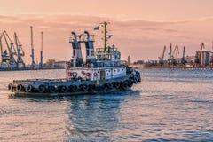 Корабль навигации Стоковая Фотография