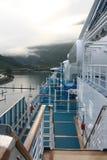 корабль палубы круиза Аляски более whittier Стоковое Фото