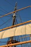 корабль пирата рангоута Стоковые Фотографии RF