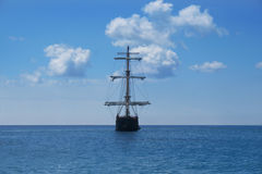 корабль пирата Стоковые Изображения