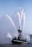 корабль пожара Стоковое фото RF