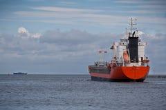 корабль порта листьев Стоковые Изображения RF