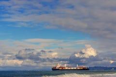 корабль порта gdansk Польши контейнера стоковое фото