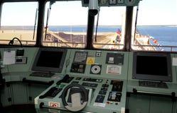 корабль приборной панели груза Стоковые Фото