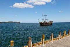 корабль пристани Стоковое Фото