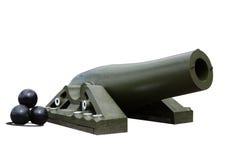 корабль пушки стоковое изображение