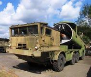 корабль ракеты пушки воинский Стоковые Изображения RF