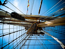 корабль рангоута высокорослый Стоковое Изображение