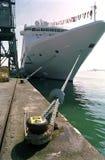 корабль соединенный southampton королевства круиза стоковые изображения