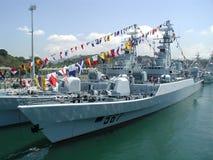 корабль сражения Стоковая Фотография RF