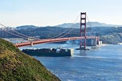 корабль строба груза моста золотистый Стоковые Фотографии RF