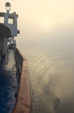 корабль тумана Стоковое фото RF
