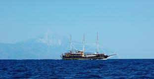 корабль утеса Стоковые Фотографии RF