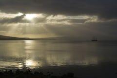 корабль утра высокорослый Стоковая Фотография RF