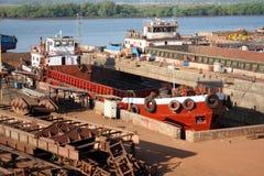 корабль фабрики Стоковая Фотография RF