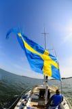 корабль флага Стоковое Фото