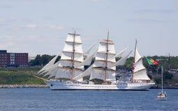 корабль 2009 scotia sagres Новы празднества высокорослый стоковая фотография