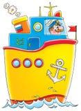 Корабль иллюстрация штока