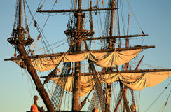 корабль batavia старый стоковое изображение rf