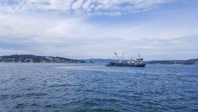 Корабль Fisher в море стоковые изображения rf