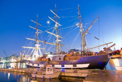 корабль johnston jeanie голода Стоковая Фотография RF