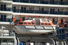 корабль lifeboats круиза стоковое изображение rf