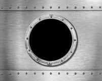 корабль porthole металла стоковые изображения