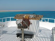 корабль rudder Стоковое фото RF