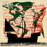 корабль sailing исследования Стоковые Фото